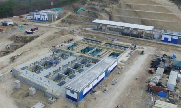 Nueva planta de potabilazación de agua «El Cerro» entra en funcionamiento