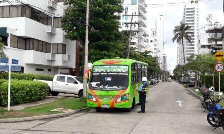 DATT acuerda compromisos para mejorar movilidad en el barrio Castillogrande en Cartagena