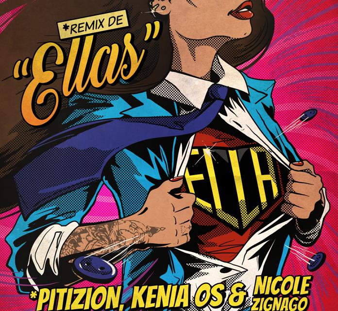 Pitizion lanza 'Ella', un remix de 'Ellas' junto a Kenia OS y Nicole Zignago