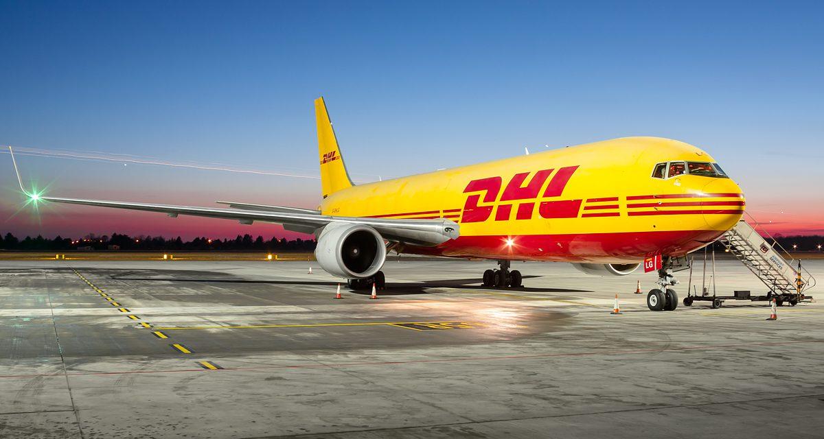 DHL Express aumenta capacidad de flota con aviones Boeing 767-300 BCF