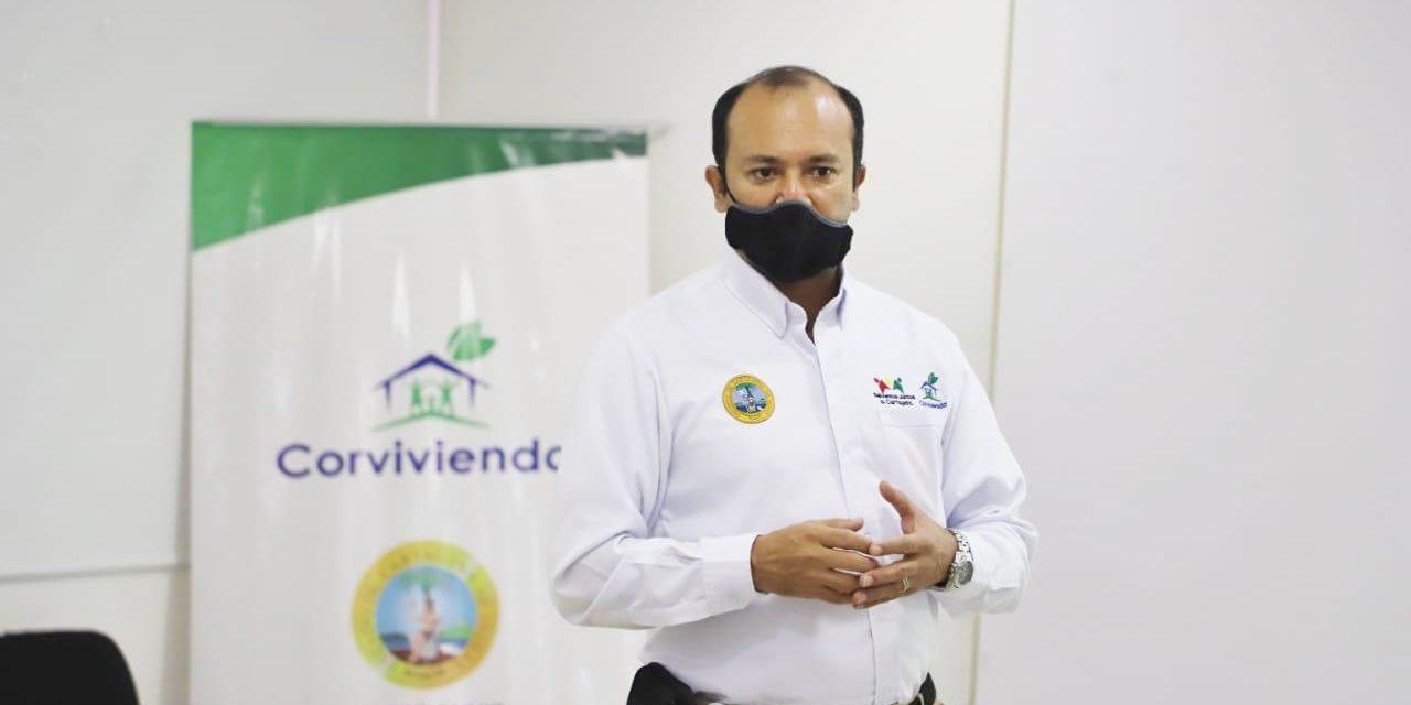 Corvivienda realiza mesa de trabajo para  la estructuración de proyectos de vivienda en Cartagena