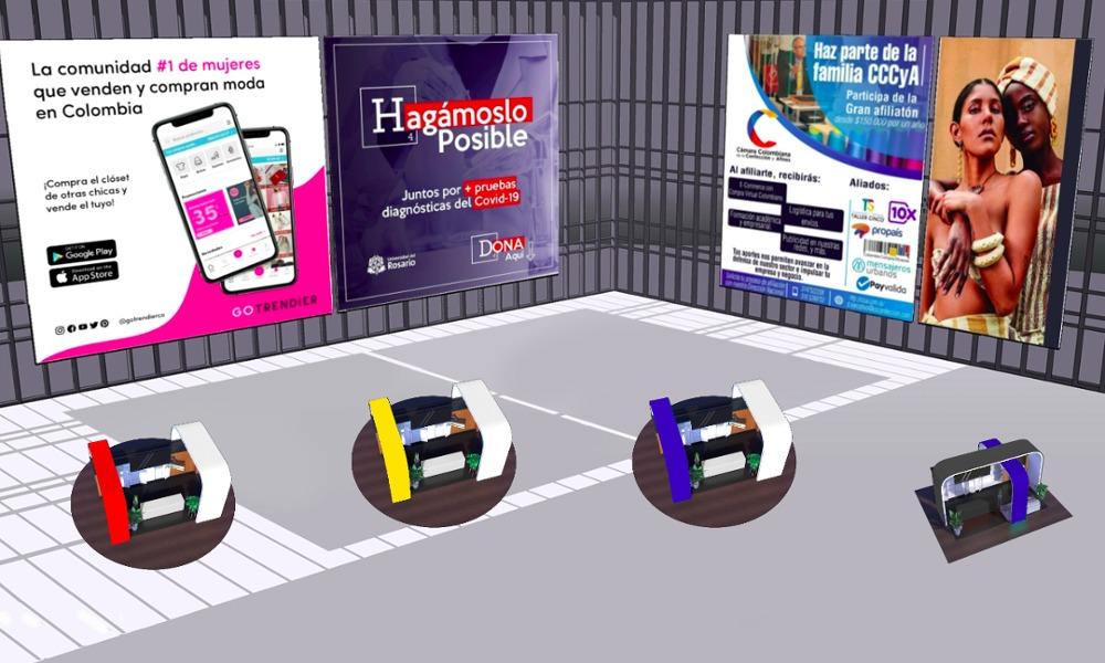 FEDE Virtual en 3d nace para apoyar la industria nacional.