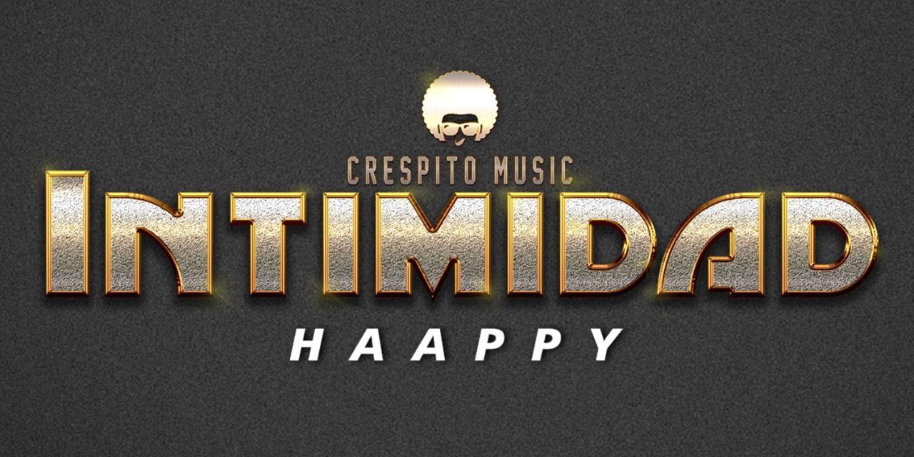 Haappy, artista cartagenero estrena su sencillo 'Intimidad'