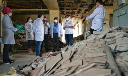 Inician obras de adecuación de los pisos 9 y 10 delHospital Universitario del Caribe