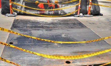Nuevas tapas de box culvert en la entrada de Ternera