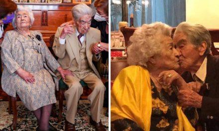 La pareja más vieja del mundo