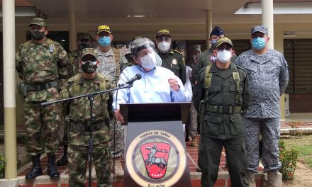 """""""La impunidad es partera de más violencia"""", afirma Ministro de Defensa"""