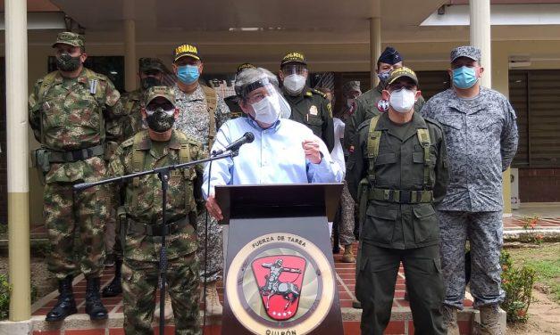 """«La impunidad es partera de más violencia"""", afirma Ministro de Defensa"""