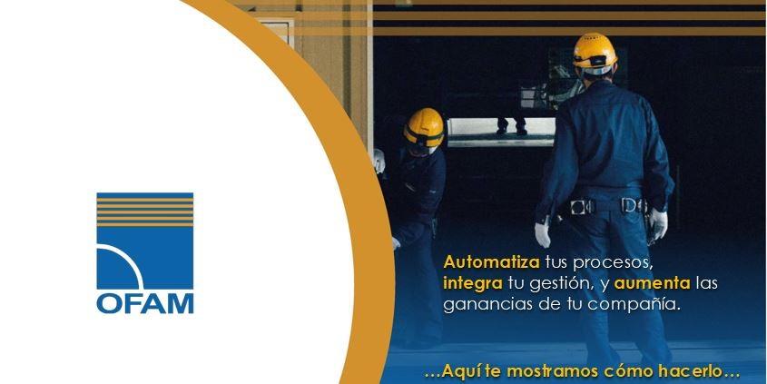 Innovamos y nos adaptamos a un mundo cambiante.  La creación para el sector Industrial por OFAM.