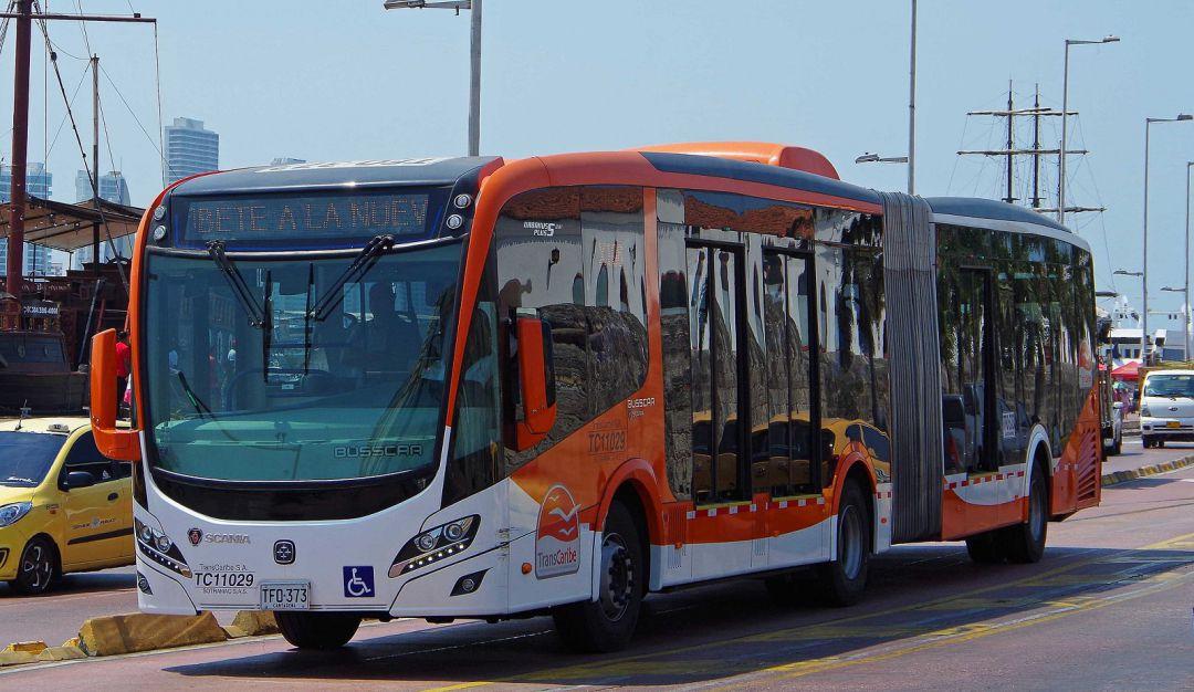 Transcaribe extiende una hora más el servicio a partir de este lunes 31 de agosto