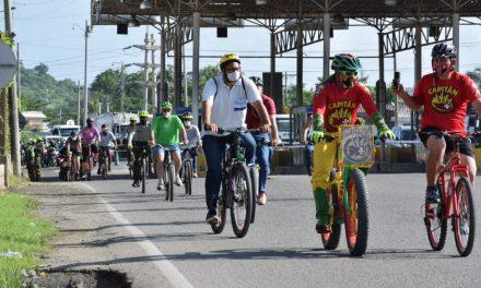 En marcha plan piloto de ciclorruta en Cartagena