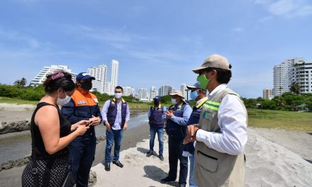 Avanzan los trabajos por problemática ambiental en El Laguito