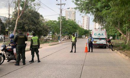 La Policía Metropolitana de Cartagena efectúa planes de control en zonas peatonales