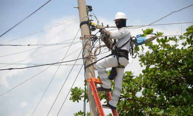 Afinia programa trabajos para mejorar la infraestructura eléctrica en Bolívar