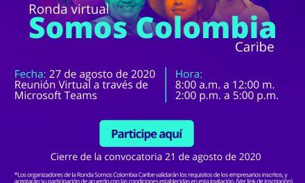 """Ronda virtual """"Somos Colombia- Caribe"""""""