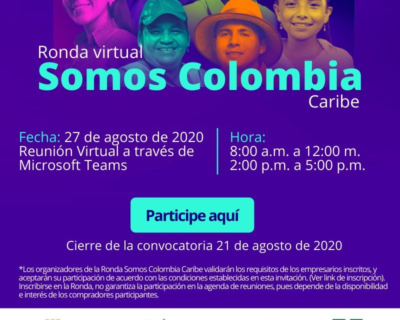 "Ronda virtual ""Somos Colombia- Caribe"""