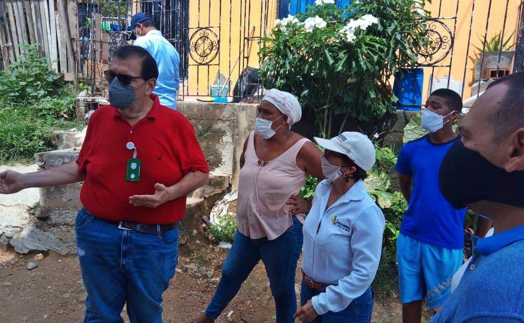 Personería y Aguas de Cartagena avanzan en ruta de trabajo por el barrio San Bernardo de Asís en la ciudad