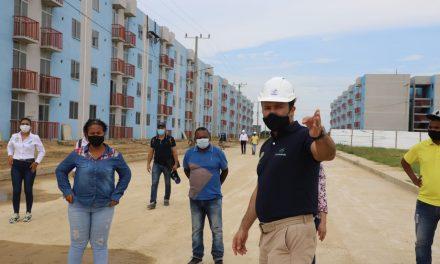 Beneficiarios de Ciudadela La Paz, etapa 1 y 2, realizan recorrido al proyecto en compañía de Corvivienda en Cartagena