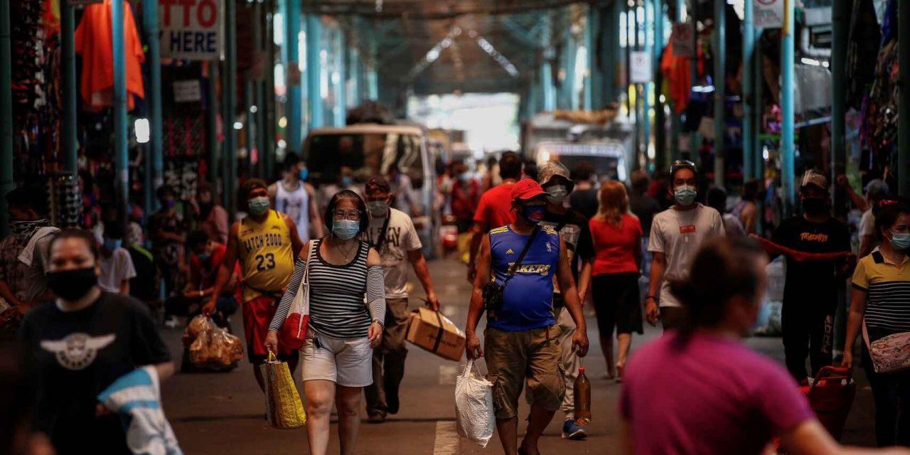 El confinamiento más largo y estricto del mundo se vive en Manila, Filipinas