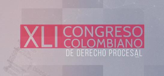 Abogados cartageneros  en el XLI Congreso Colombiano de Derecho Procesal