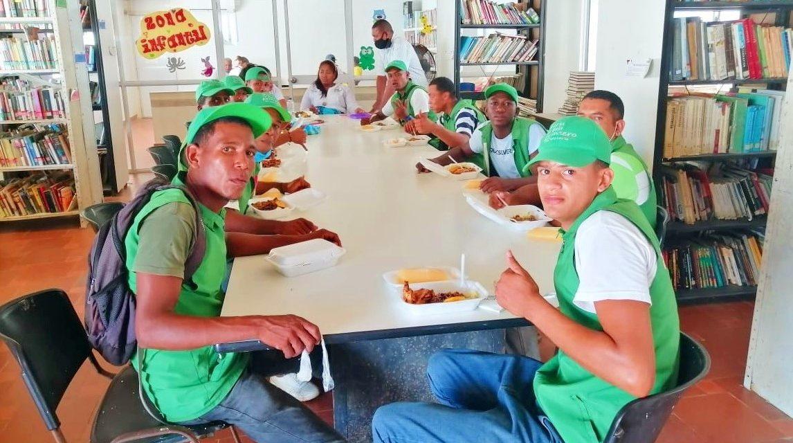 Alcaldía de María La Baja articula acciones con 289 jóvenes en riesgo para consolidar la paz en el territorio