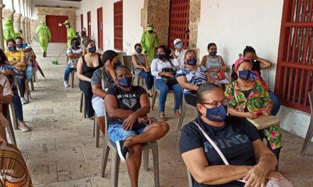 Mutual SER EPS realizó pruebas de covid-19 a comerciantes y artesanos en Cartagena