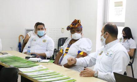 Corvivienda y Primera Dama trabajan por la legalización de los predios del barrio El Reposo