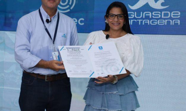 Icontec certifica el Sistema de Gestión Antisoborno de Aguas de Cartagena