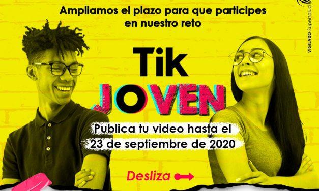 Fundación Sersocial IPS invita a afiliados de Mutual Ser EPS a participar del Reto Tik Joven