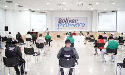El Gobierno del 'Bolívar Primero' lideró mesa de diálogo con líderes de Cartagena amenazados