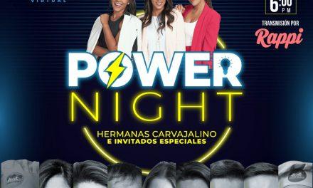 Disfruta este miércoles 30 de septiembre la tercera edición de Power Night