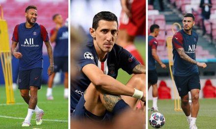 Neymar, Di María y Leonardo Paredes tienen COVID-19