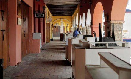 El portal de los dulces de Cartagena sigue sin poder abrir