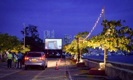 ¡Autocine en Centro de Convenciones en Cartagena es una realidad!