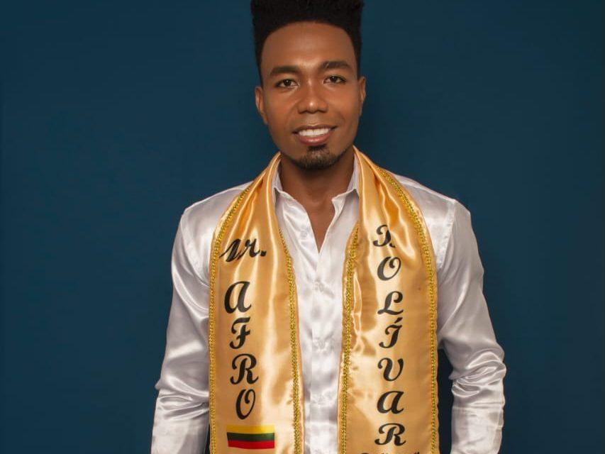 Javier Altamar Manjarrez sueña con ser el próximo Mister Afro Colombia 2020-2021