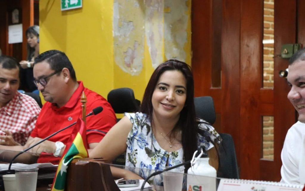 Alianza respalda candidatura de Carolina Lozano a la presidencia del Concejo de Cartagena