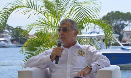 William Dau pide blindar de la corrupción los proyectos de recuperación de la Bahía de Cartagena