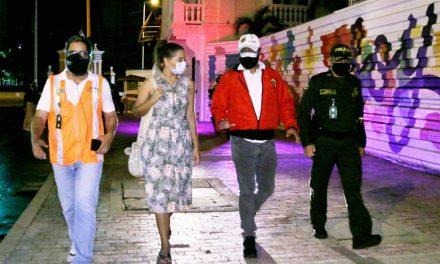 Secretaria del Interior realizó intervenciones de control durante el puente festivo en Cartagena