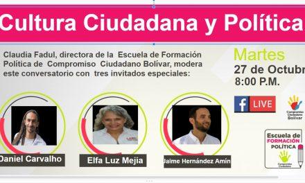 Participa de la Escuela de Formación Política de Compromiso Ciudadano