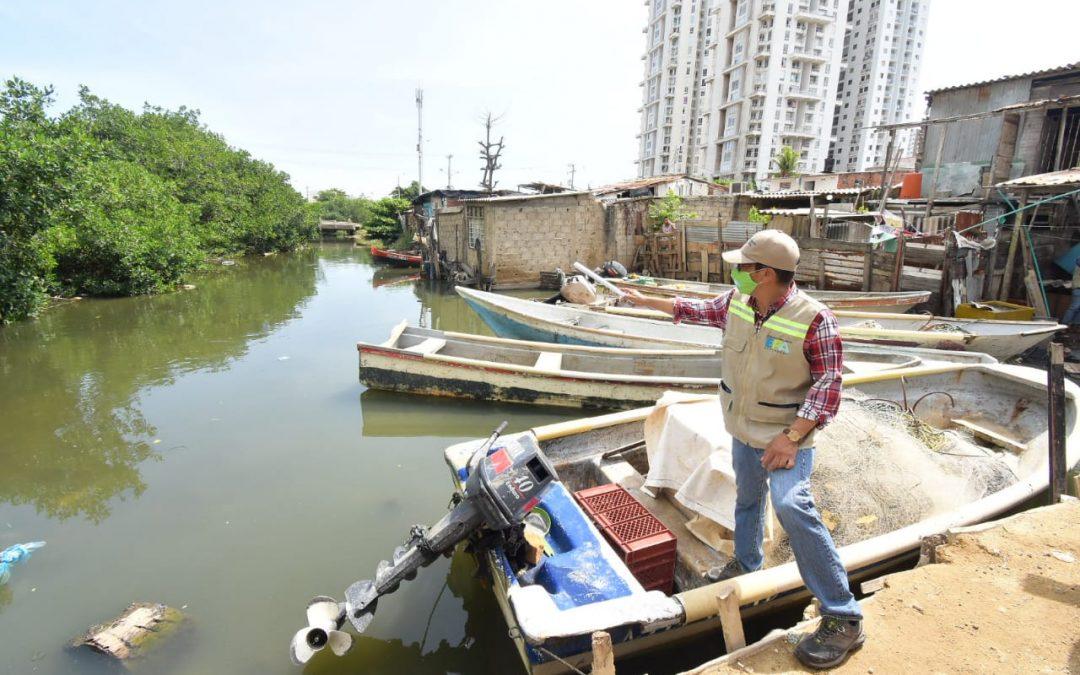 Continúa plan para recuperación del caño Juan Angola