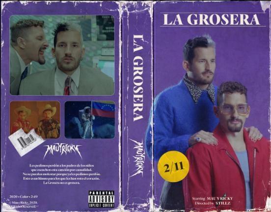"""""""La Grosera"""" lo nuevo de Mau y Ricky"""