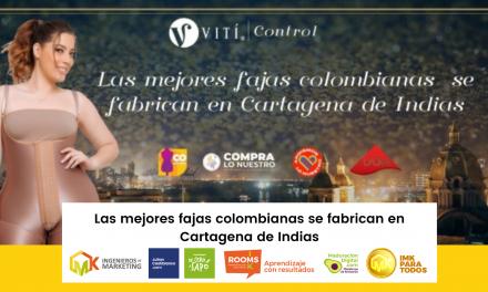 Las mejores fajas colombianas se fabrican en Cartagena de Indias