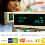 Acopi pide eximir del IVA a productos nacionales para fin de año