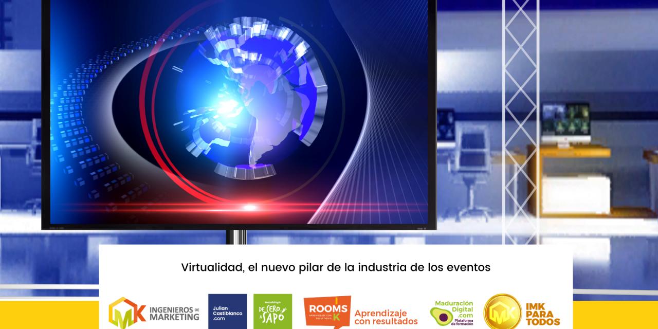Virtualidad, el nuevo pilar de la industria de los eventos