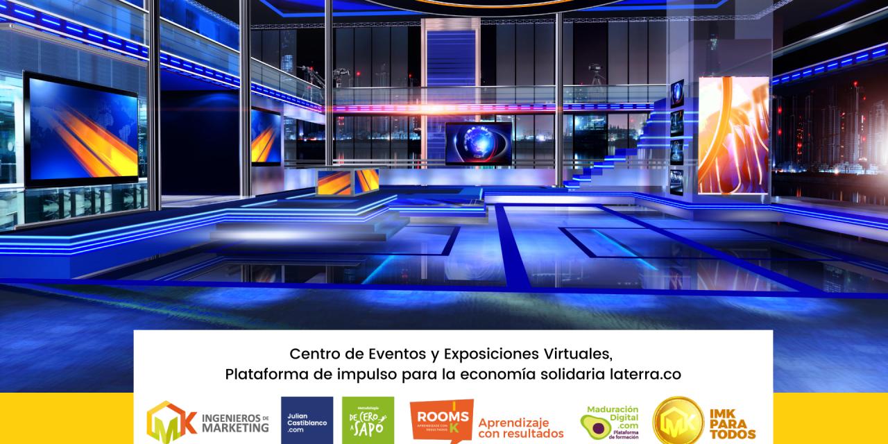 Centro de Eventos y Exposiciones Virtuales, Plataforma de impulso para la economía solidaria Laterra.co