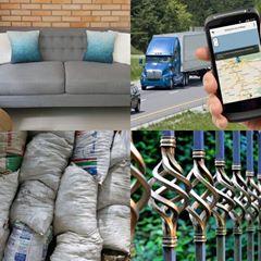 Servicios de tapicería, rejas, rastreo y escombros ahora en internet