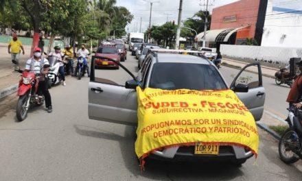 SUDEB se une al paro nacional convocado por las centrales obreras y Fecode