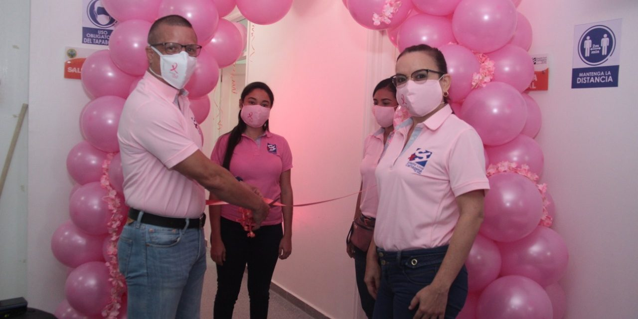 ESE Cartagena inaugura consultorio rosado