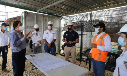 """Inspeccionan terreno del Parque """"Recreo Deportivo Ciudadela La Paz"""""""