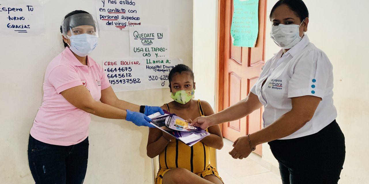 """""""Control prenatal seguro"""" estrategia que benefició a cientos de gestantes en Bolívar"""